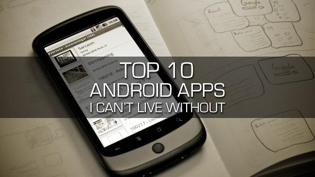 افضل 10 تطبيقات للاندرويد