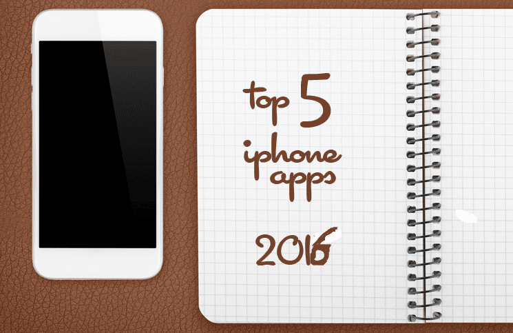 top-5-iphone-apps-2016
