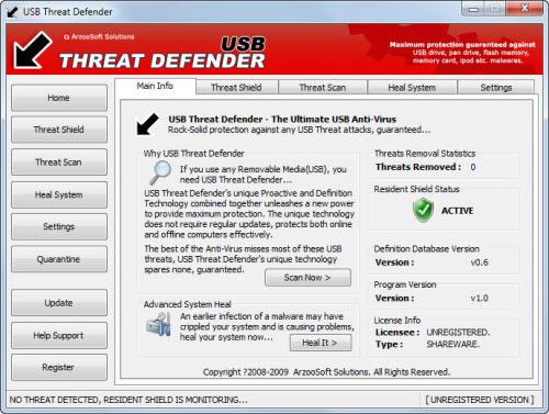 7 برامج لحماية الكمبيوتر من الفلاشة المصابة بالفيروسات والأوتورن