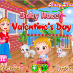 العاب بيبي هازل عيد الحب