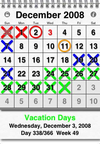 xoCal Calendar